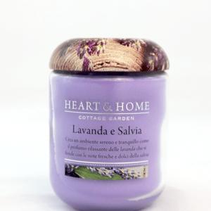 Candela Lavanda e Salvia